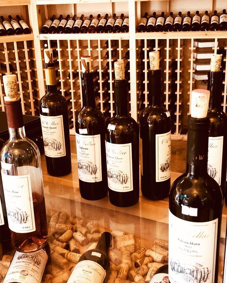 ジョージアのワインセラー