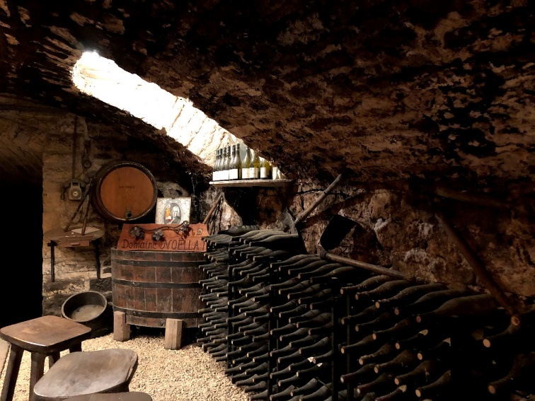 ワイン旅2 地下の試飲ルーム