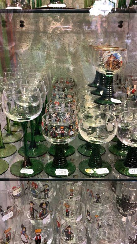 ワイン旅2 アルザスのワイングラス