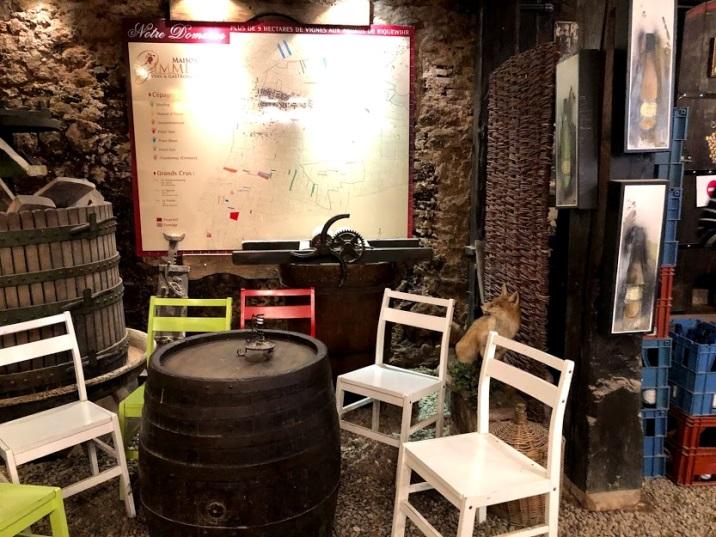 ワイン旅2 アルザスのワイナリー3
