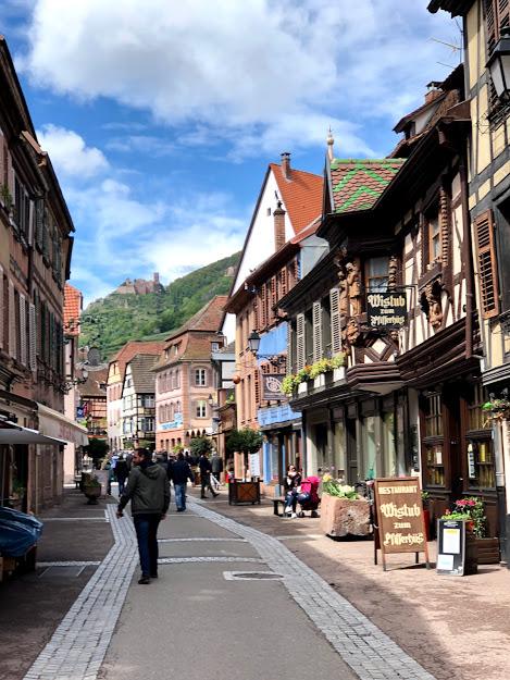 ワイン旅2 リボーヴィレの街1