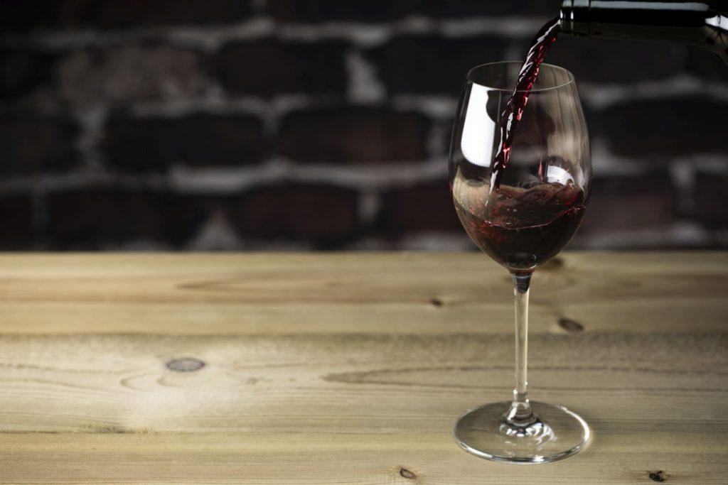シラーの赤ワイン