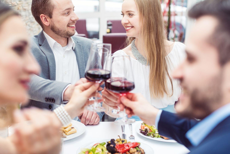 イタリアワインで乾杯